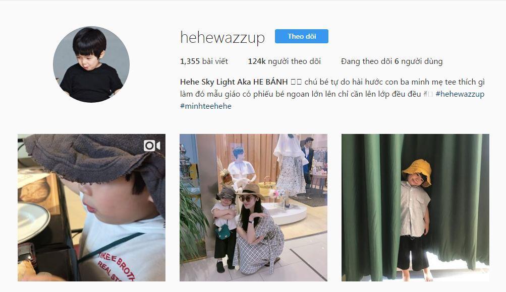 Hehe: Nhóc tì hot nhất Instagram Việt, ai nhìn cũng muốn ẵm về nuôi
