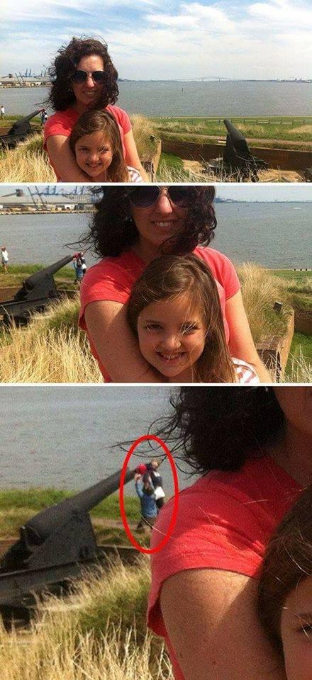 Những bức ảnh tự sướng thất bại bởi phông nền 'khó đỡ'