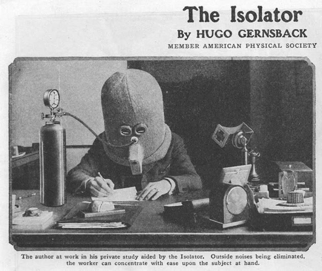 Mũ bảo hiểm chống phân tâm từ năm 1925 là sản phẩm lý tưởng dành cho team văn phòng ngày nay