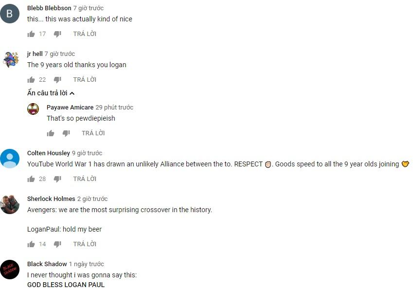 Logan Paul muốn giúp Pewdiepie trở thành YouTuber có lượng subs cao nhất