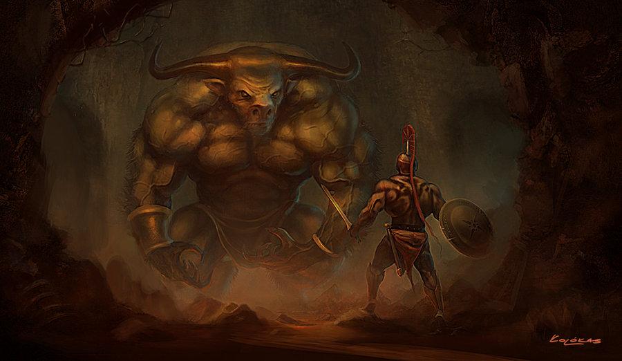 [18+] Minotaur - Con quái vật sinh ra từ nghiệt duyên giữa người và thú
