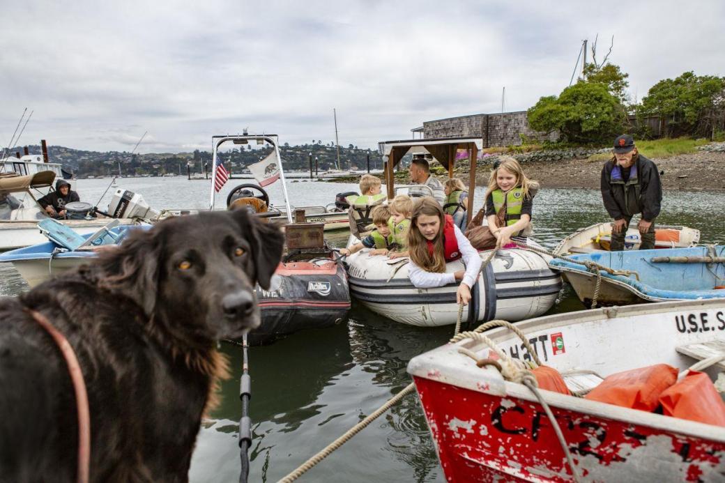 Dân San Francisco bỏ phố lên thuyền sống lênh đênh giữa biển vì giá nhà quá cao