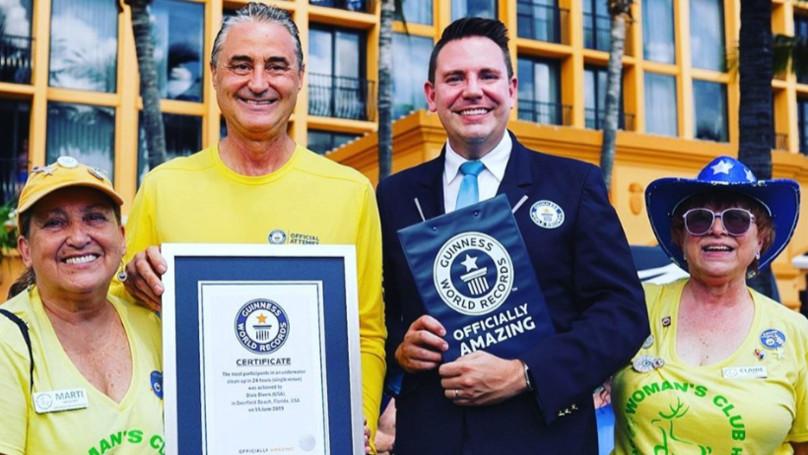 Đội thợ lặn đạt kỷ lục Guinness nhờ chăm chỉ dọn dẹp rác thải trên đại dương