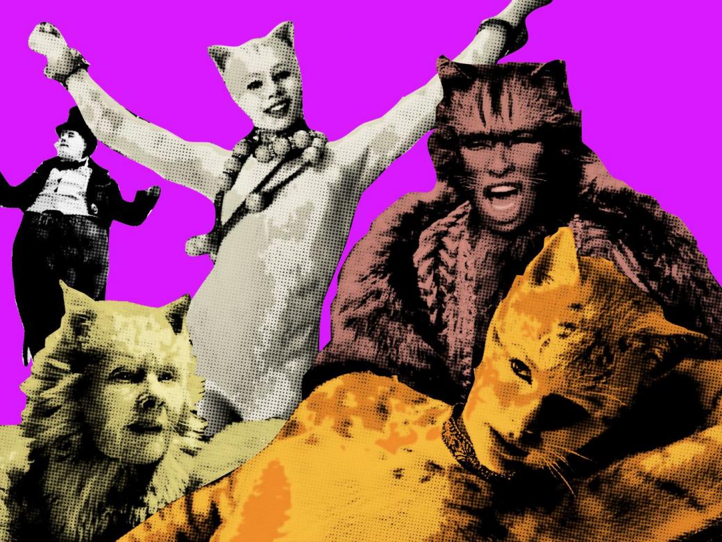 Tạo hình trong bộ phim 'nhân thú' Cats khiến nhiều người phát hoảng