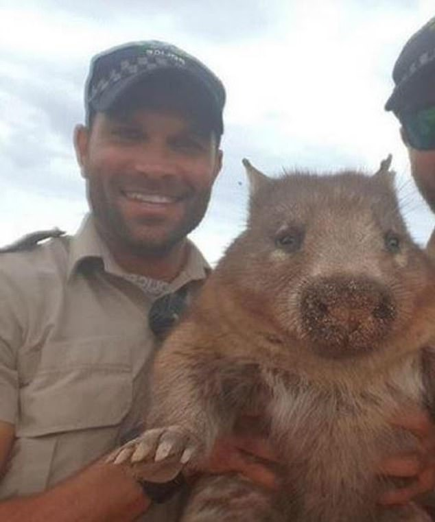 Thủ phạm ném đá gấu túi đến chết lại là một sĩ quan cảnh sát cấp cao