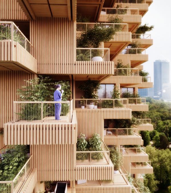Toronto Tree Tower - Tòa tháp xanh mơn mởn giữa lòng đô thị