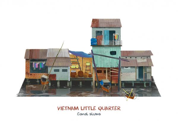 Vietnam Little Quarter - Những góc thân quen trong lòng phố