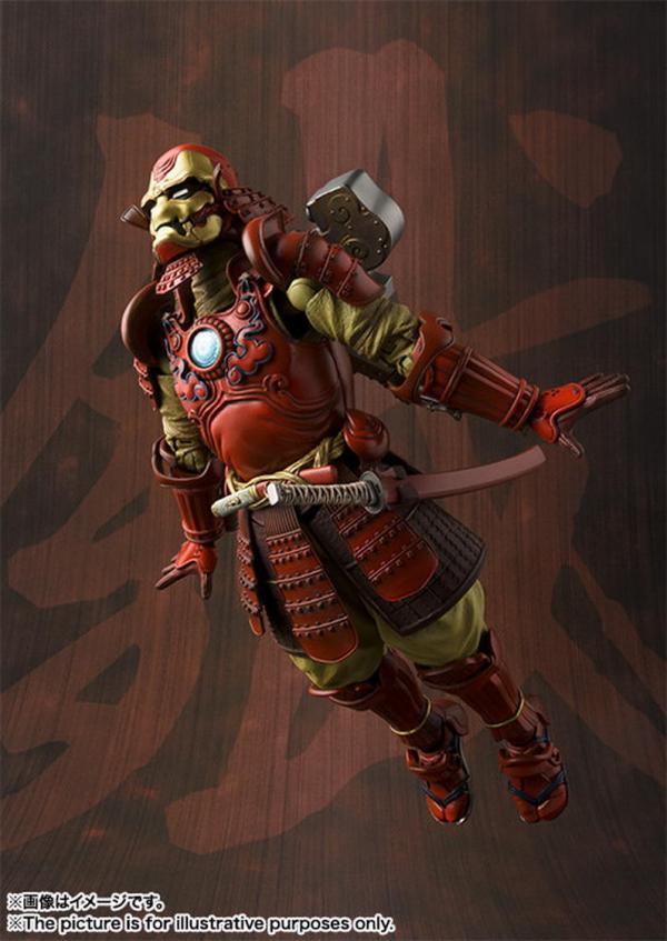 Nếu 'lạc trôi' sang Nhật, các siêu anh hùng sẽ hóa thành... samurai?