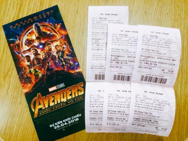 Các rạp chiếu phim 'thất thủ' vì siêu bom tấn Avengers: Infinity War