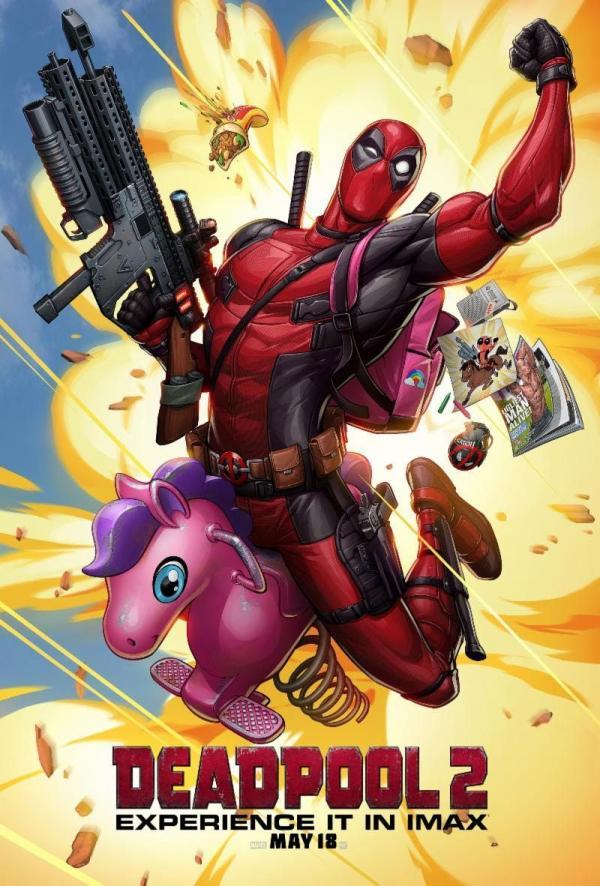 'Deadpool 2' dùng tranh do người hâm mộ thiết kế làm poster IMAX chính thức