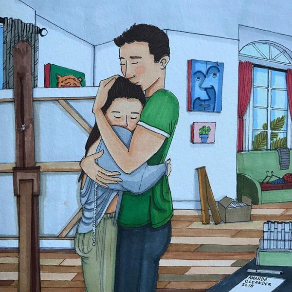 Tình yêu của những cặp lâu năm trông như thế nào đằng sau cánh cửa nhà?