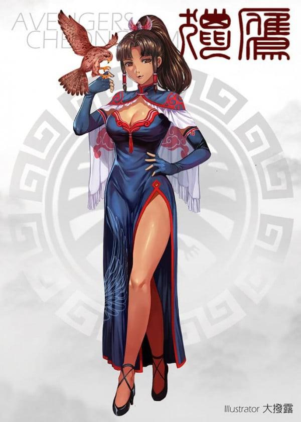 Khi các siêu anh hùng Avengers biến thành... thiếu nữ gợi cảm