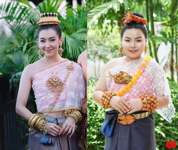 Thảm đỏ Met Gala - Cannes phiên bản Thái: Khi đồ ăn là cảm hứng sáng tạo vĩ đại