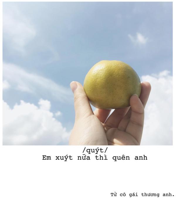 'Quăng thính' bằng trái cây chính là phương pháp thoát ế mới nhất dành cho chị em