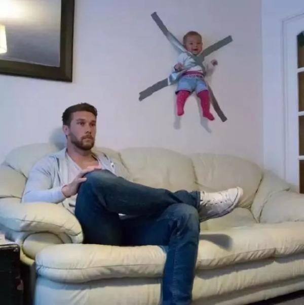 Loạt ảnh hài hước khi các mẹ tin tưởng để các bố trổ tài trông con