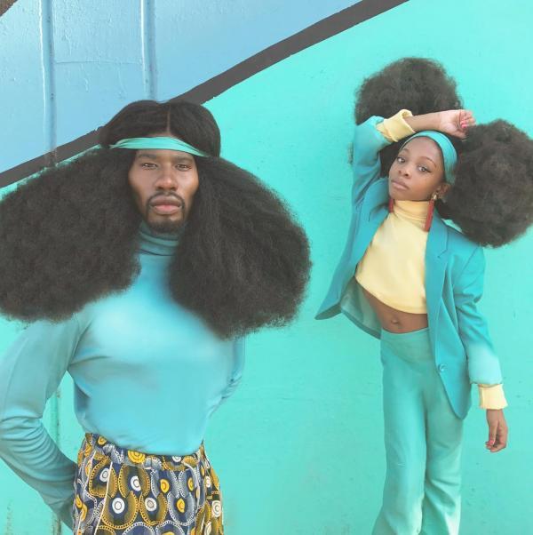 Gặp gỡ gia đình Harlem và kiểu tóc hoàn toàn tự nhiên ấn tượng nhất thế giới