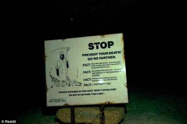 Những biển báo nguy hiểm khiến người gan dạ nhất cũng cảm thấy chùn chân