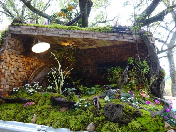 Những khu vườn trên xe tải tuyệt đẹp từ cuộc thi làm vườn Nhật Bản