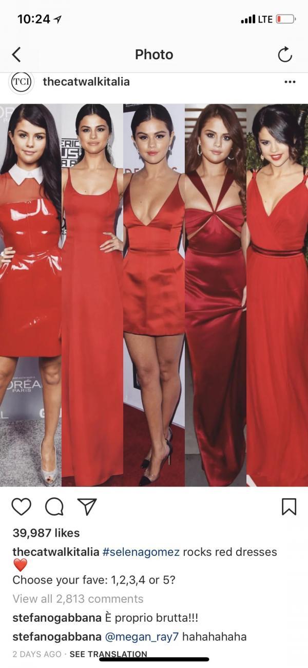 'Ông trùm' thương hiệu Dolce & Gabbana chê Selena Gomez xấu xí và phản ứng bất ngờ của Miley Cyrus