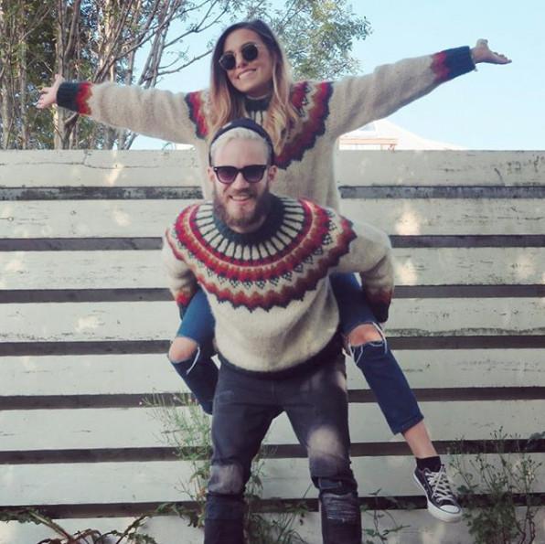 Hành trình tình yêu 7 năm của 'ông hoàng Youtube' Pewdiepie và bạn gái Marzia