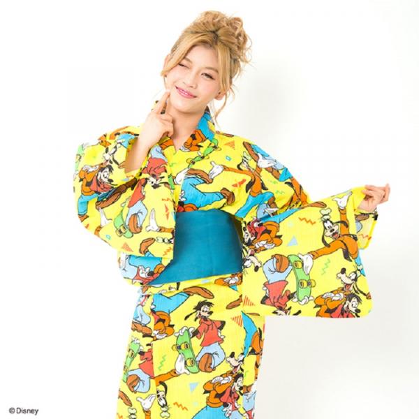 Bộ sưu tập Kimono mùa hè phiên bản Disney siêu đáng yêu khiến các thiếu nữ Nhật mê mẩn