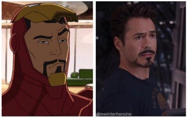 Chân lý hiện ra sau khi so sánh 'Iron Man' bản truyện tranh với bản 'người thật việc thật'