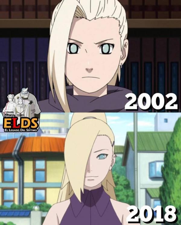 16 năm qua các nhân vật trong Naruto đã thay đổi ra sao? Bức ảnh cuối cùng sẽ khiến bạn bất ngờ