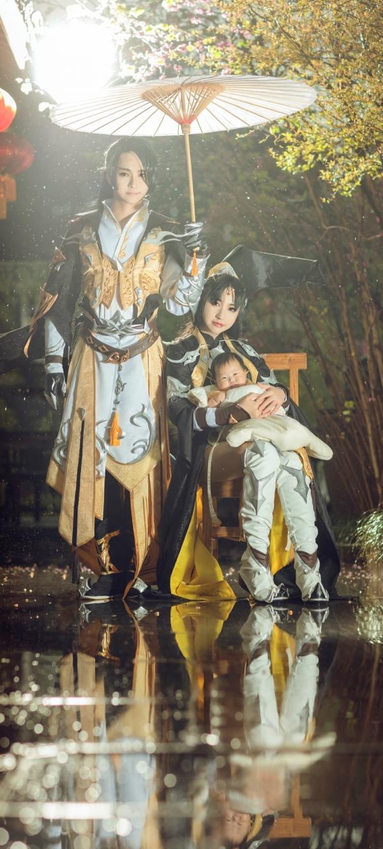 Chuyện tình lãng mạn như phim của các cặp đôi coser huyền thoại xứ Đài - Trung