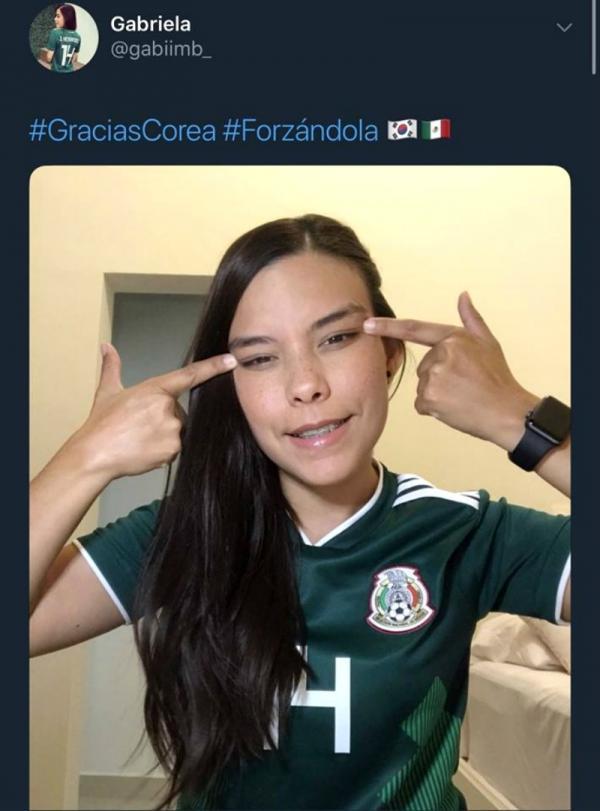 MC truyền hình bị mất việc vì chế giễu đôi mắt người Hàn khi ăn mừng Mexico đi tiếp ở World Cup