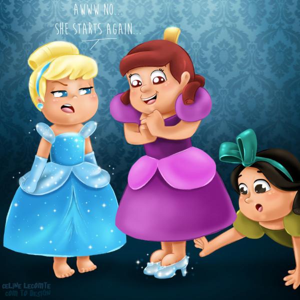 Hình ảnh siêu đáng yêu của các nhân vật hoạt hình Disney khi còn bé thơ