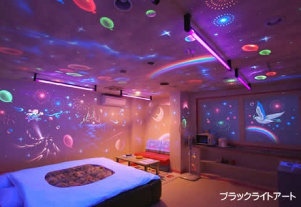 Muôn hình vạn trạng bên trong khách sạn tình yêu Nhật Bản