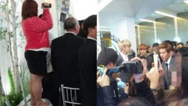 Đây là lí do quản lý sao Hàn thô bạo với fans cuồng 'bám dính' thần tượng tại sân bay