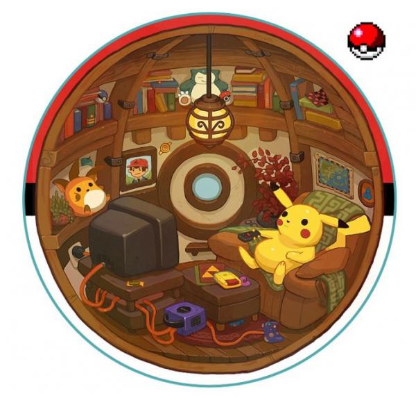 Thế giới thu nhỏ của các Pokémon bên trong Pokeball trông như thế nào?