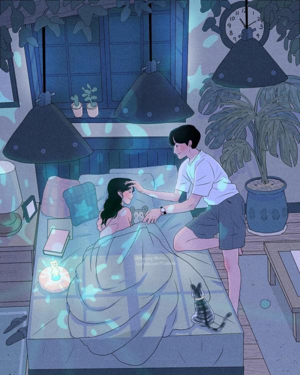 Bộ tranh: Hẹn hò với các oppa Hàn Quốc, khi đời thường còn lãng mạn hơn phim
