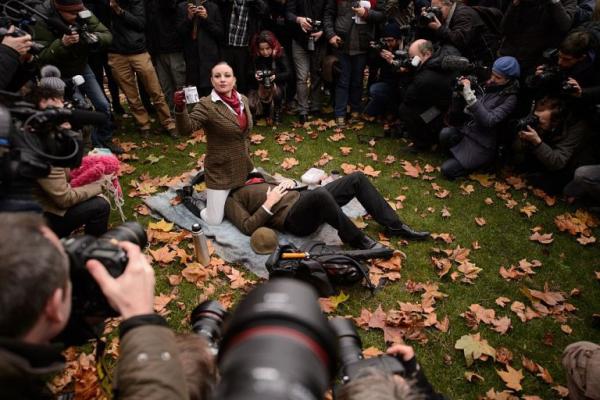Họ ít khi biểu tình, nhưng khi biểu tình thì sẽ chọn cách 'độc' và 'chất' nhất