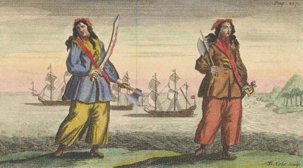 Cướp biển đâu phải nghề nghiệp chỉ dành riêng cho đàn ông?