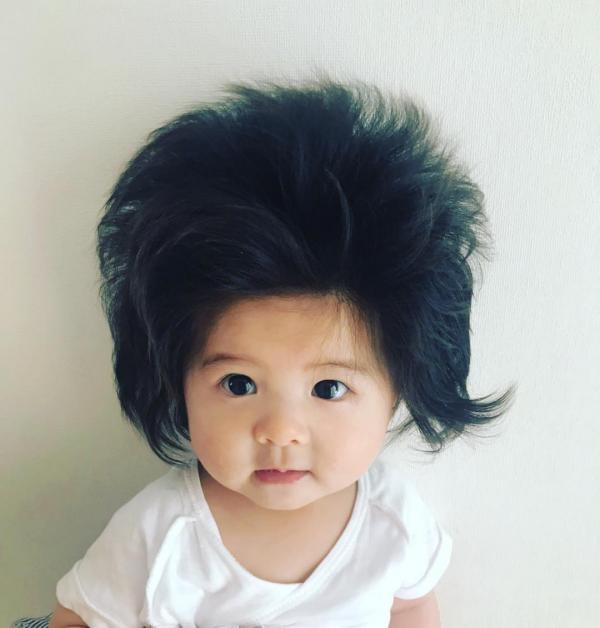 Cộng đồng mạng 'đổ rạp' trước 'công chúa tóc mây' phiên bản nhí từ Nhật Bản