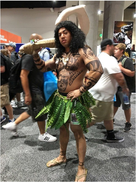 Tổng kết những bộ cosplay 'bá đạo điên đảo' tại Comic-Con 2018