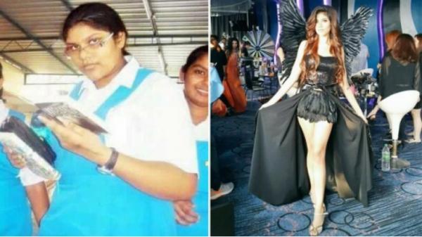 Cô gái xấu xí nặng 101kg và câu chuyện 'lột xác' khó tin trở thành Hoa hậu Trái Đất Malaysia