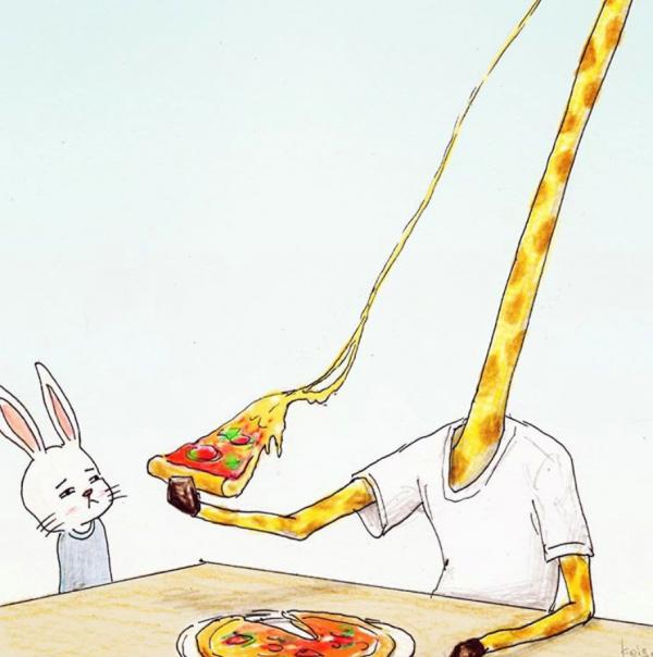 Rắc rối kéo đến khi động vật, hoa quả giống như con người