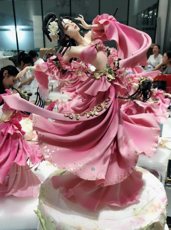 'Ông hoàng đồ ngọt' Trung Hoa cho ra mắt tác phẩm fondant đẹp hơn tranh vẽ