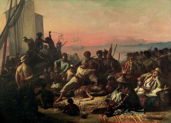Địa ngục trên mặt nước: Sự khắc nghiệt, tàn bạo trên những chuyến tàu nô lệ Đại Tây Dương