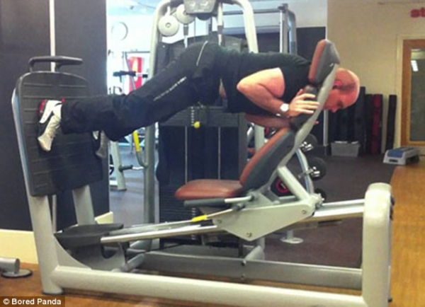 Những điều kỳ thú khiến bạn nhìn thấy mà quên cả tập ở phòng gym