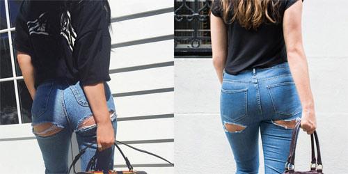 Quần lót jeans: Lại một minh chứng cho các nhà thiết kế 'vui thôi nhưng cứ thích vui quá'!
