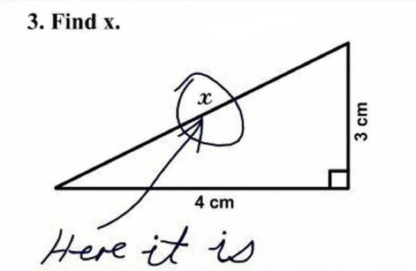 Cảm thông thay cho các giáo viên khi phải chấm những bài tập về nhà 'quái chiêu' như thế này