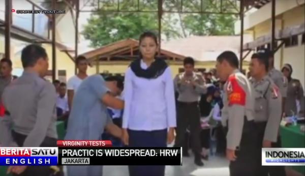 Muốn gia nhập quân đội ở Indonesia, phụ nữ phải 'được'... đàn ông kiểm tra trinh tiết