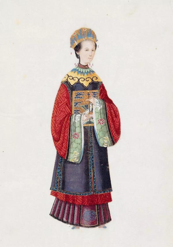 Bằng chứng cho thấy tạo hình của Châu Tấn trong 'Như Ý Truyện' chuẩn cung đình Mãn Thanh
