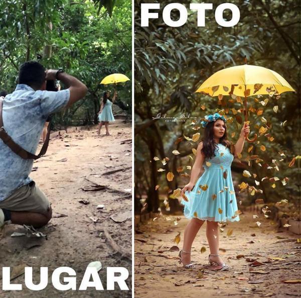Loạt ảnh hậu trường hài hước cho thấy không gì là không thể với một nhiếp ảnh gia