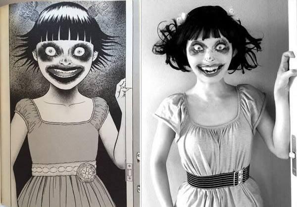 Nữ cosplayer có 'ngàn khuôn mặt', chỉ thích hóa trang thành nhân vật trong manga của 'bậc thầy kinh dị' Junji Ito