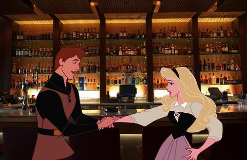 Bộ tranh cuộc sống đen tối và bi thảm của các nhân vật Disney khi 'xuyên không' về thời hiện đại